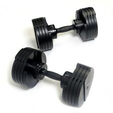 ✅ SHIPS NOW Core Home Fitness Adjustable Dumbbells Weights Set 5-50 LB ✅