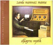 ZAMLA MAMMAZ MANNA Schlagerns Mystik/För Äldre Nybegynnare 2-CD samla, for aldre