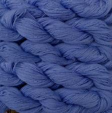 Pure wool  yarn, fingering weight,   5 skeins, blue, 9oz.