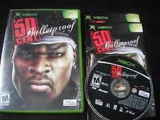Microsoft Xbox complete in case 50 Cent Bulletproof tested