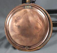 19th Century Copper Warming Pan