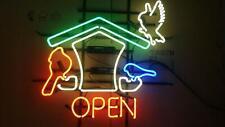 """Neon Light Sign 24""""x20"""" Best Bird Open Beer Bar Artwork Decor Lamp"""