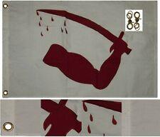 2x3 Embroidered Dimmit's Goliad Sewn 100% Cotton Flag 2'x3' 2 Clips