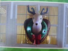 CHRISTMAS Deer Head  AIRBLOWN INFLATABLE  yard blowup