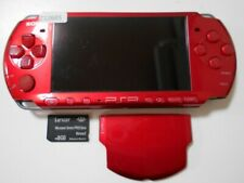 Z12685 Sony PSP-3000 console Radiant Red Handheld system Japan w/SD Cardx
