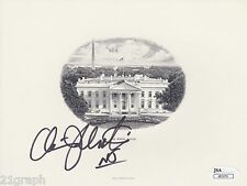 Chris Christie In-Person Signed BEP Engraving w/ JSA COA # J61273 New Jersey