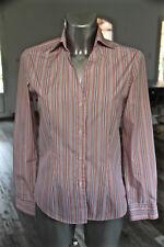 shirt large pink striped woman EDEN PARK club house size 1 MINT