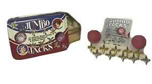 Jumbo Jacks Classic Game In Tin Made In USA Kids Games Collectible Channel Craft
