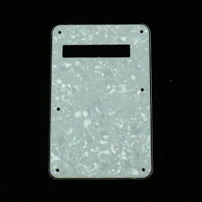 Standard Strat Style Guitar Cavity Cover Tremolo Back Plate ,4ply White pearl