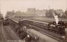 Richmond Railway Station.