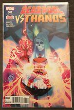 Deadpool vs Thanos 4 VF DEC 2015 Marvel Comics Seeley Bondoc