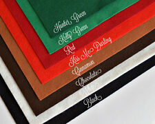 "Wow Classic Christmas Felt Collection Merino Wool Blend Felt 8- 12"" X 18"" Sheets"