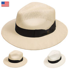 b835a96d0671a DRY77 EpochLine Summer Cool Outback Panama Wide Large Brim Fedora Straw Hat  Sun