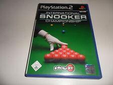 PlayStation 2  PS 2   Internat.Snooker Championship (2)
