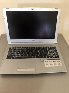 MSI MS-16JD,7th Gen i5-7300HQ,2.50Ghz, 8GB Ram,750GB HDD,G-MX-150 window10 pro .