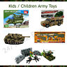 Kids Army Toys Different Types Police Toys Guns Tanks Truck Combat Forces Kits