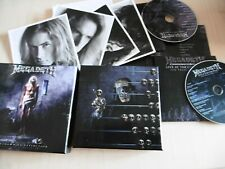MEGADETH COUNTDOWN TO EXTINCTION TWENTIETH ANNIVERSARY 2 CD BOX PRINTS POSTER