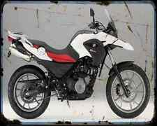 Bmw G 650Gs 11 9 A4 Metal Sign Motorbike Vintage Aged