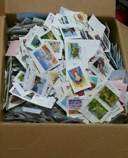450 gr  All Stamped Used Australian Stamps On Papers Bulk (kiloware)