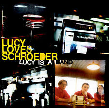 Lucy Loves Schroeder - Lucy Is a Band CD 2001 Vile Beat MINT CHEAP!