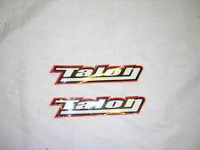 "Talon Stickers/Decals, x 2 New 5"" Long."