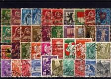 Lot Schweiz o aus 1920 - 1936  ( 10611-o1 )