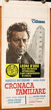 locandina film CRONACA FAMILIARE Marcello Mastroianni Jacques Perrin 1962