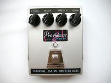 Providence PFX-3B Vandal Bass Distortion Effects Pedal