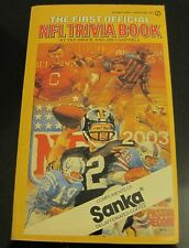 1980 First Official NFL Trivia Book by Ted Brock, Jim Campbell