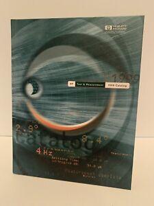 Hewlett Packard 1999 Test & Measurement Catalog Hardcover Near Mint