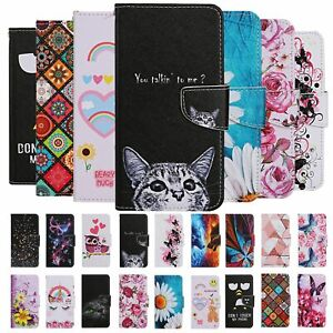 For Xiaomi Redmi Note 9 8T 8 7 Case Painted Wallet Flip Card Stand Phone Cover