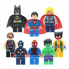 The Americans Super Heroes Mini Build Action Toys & Gifts Present for Kids