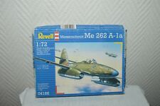 MAQUETTE AVION MESSERSCHMIDT ME 262 A-1A REVELL PLANE/PLANO NEUF 1/72 MODEL KIT