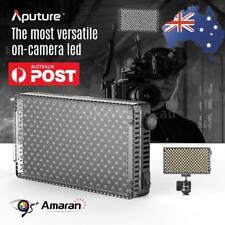 Aputure AL-F7 3200-9500K CRI/TLCI 95 LED Video Light Lamp Panel+Cold Shoe Mount