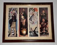 HUGE Marc Davis SIGNED Haunted Mansion Stretching Portraits 1999 #282/300 30th