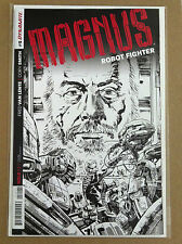 MAGNUS ROBOT FIGHTER (2014) #5 B&W 1:10 VARIANT COVER DYNAMITE NM 1ST PRINTING