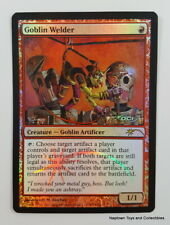 Mtg Foil Goblin Welder x1 Judge Promo DCI Magic the Gathering NM