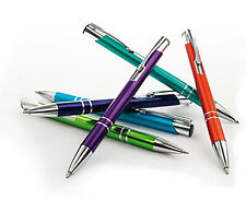Metall Kugelschreiber mit Wunschgravur Werbung graviert ab 1 Stück