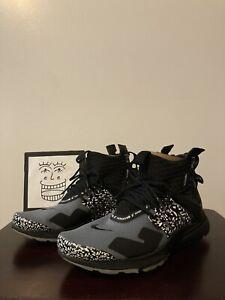 Nike Air Presto Mid Acronym 'Cool Grey' AH783 001 Size 8