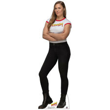 RONDA ROUSEY WWE Wrestling Divas CARDBOARD CUTOUT Standup Standee Poster Rowdy