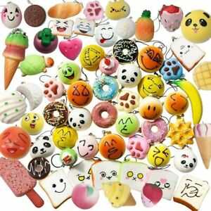 20 pcs pack Jumbo Medium Mini Soft Squishy Cake For Karids squishies
