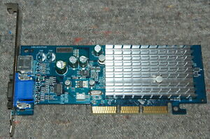 ALBATRON MX480EL nVIDIA GeForce MX440 64MB AGP VGA PASSIVE FULL WORK