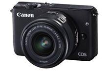 EOS M10 18.0MP DSLR Camera with 15-44mm Lens - Black
