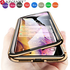 360 ° adsorción magnética teléfono caso para iPhone 11 Pro Max XS X Xr 6s Plus 8 7 6