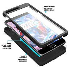 Revolution Series Premium Rugged Hybrid Case For OnePlus 3 / OnePlus 3T Black