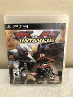 MX vs. ATV Untamed (Sony PlayStation 3, 2007) Complete With Game, Manual & Case