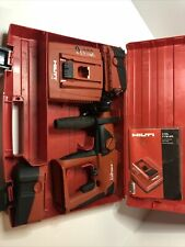 Hilti Cordless Rotary Hammer Drill Kit Te 2a Drill 2 Batteries Charger Case