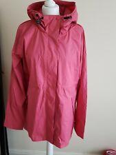 Hunter womens mac coat pink size 16 brand new