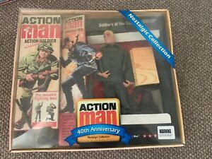 Action Man 40th Anniversary German Storm Trooper Set Complete