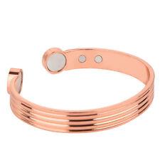 Qualität Magnetarmband Kupferarmreif starke Magneten Damen Herren Armband